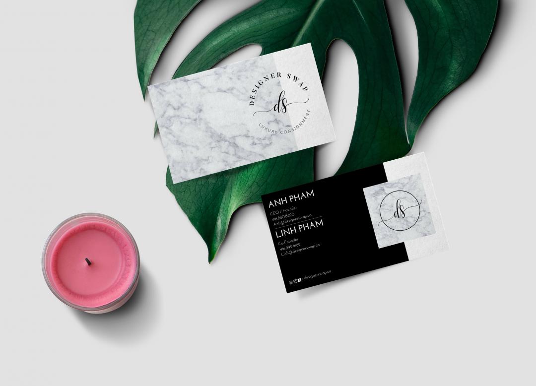 Designer Swap Business Card